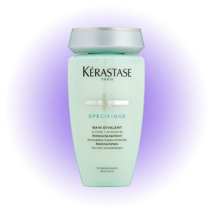 Шампунь для волос, жирных у корней, Divalent, Kérastase