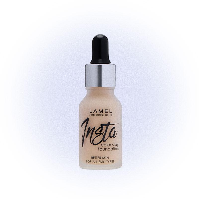Тональный крем Insta Color Stay, Lamel Professional