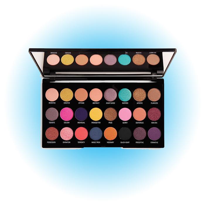Палетка пигментов для век Creative Vol 1 Makeup Pigment Palette, Makeup Revolution