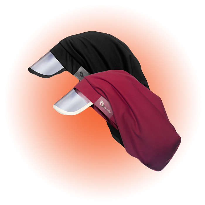 Капюшон для волос Hairbrella