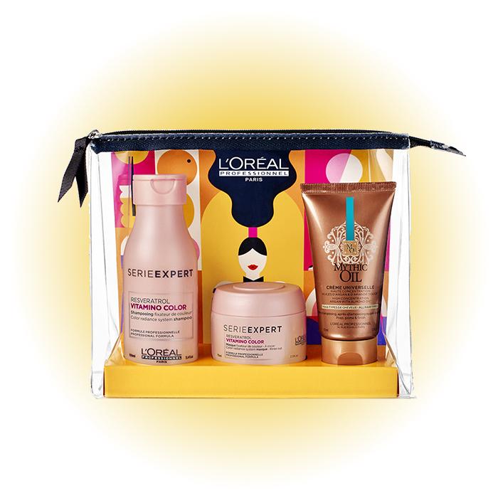 Набор для окрашенных волос Summer in Paris Vitamino, L'Oréal Professionnel