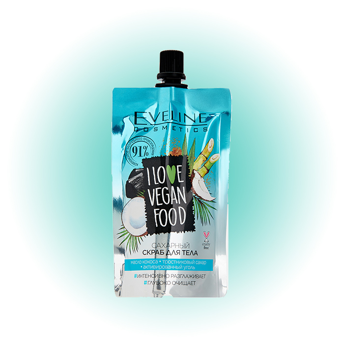 I Love Vegan Food Coconut Detox, Eveline Cosmetics