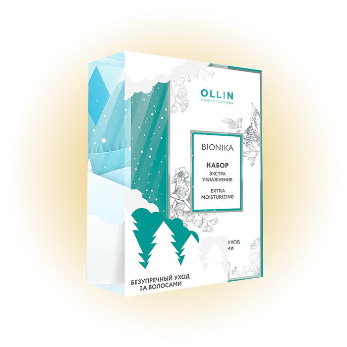 «Экстраувлажнение»: шампунь + гель-кондиционер Bionika, Ollin Professional