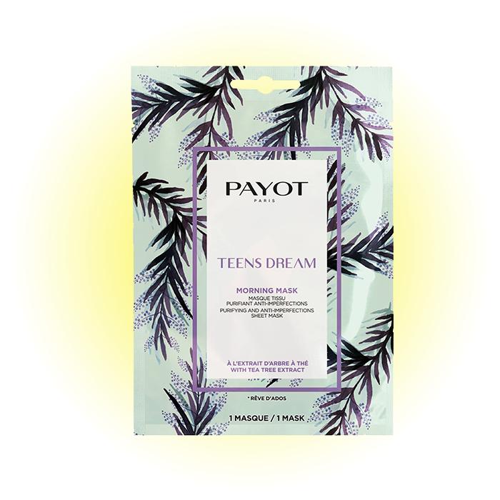 Очищающая и матирующая тканевая маска Teens Dream, Payot