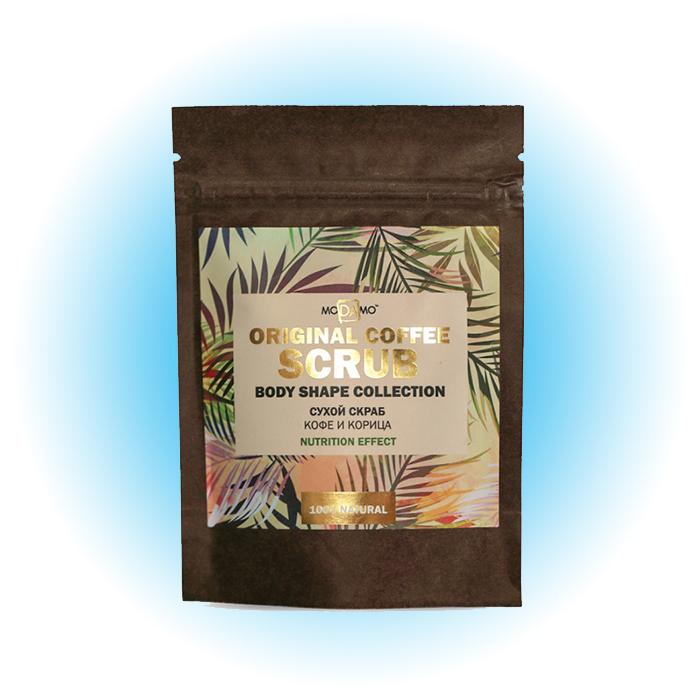 Сухой скраб Coffee and Cinnamon, Modamo