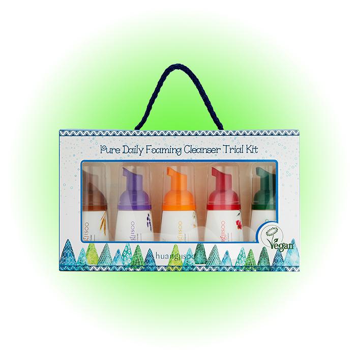 Набор очищающих пенок для умывания Pure Daily Foaming Cleanser, Huangjisoo