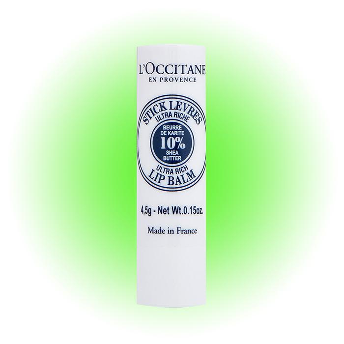 Увлажняющий бальзам-стик для губ Shea Butter, L'Occitane