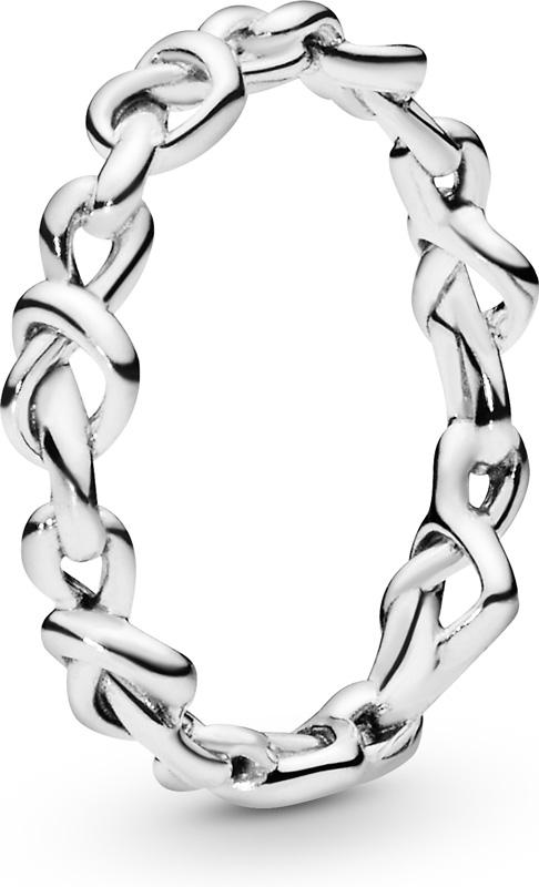 Кольцо «Сплетенные сердца», Pandora