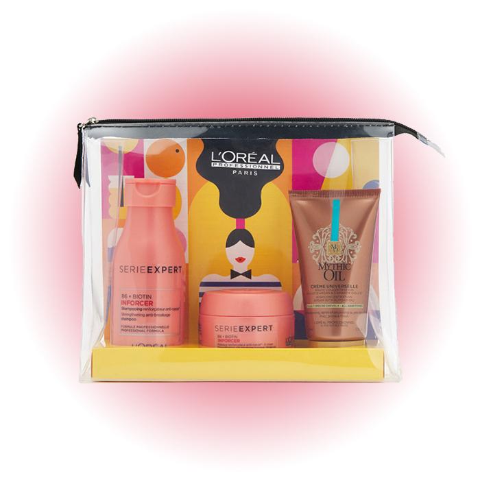 Набор для укрепления волос Summer in Paris Inforcer, L'Oréal Professionnel