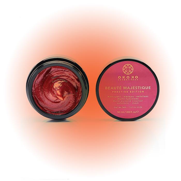 Кроваво-красное средство для очищения лица, Okoko Cosmetiques