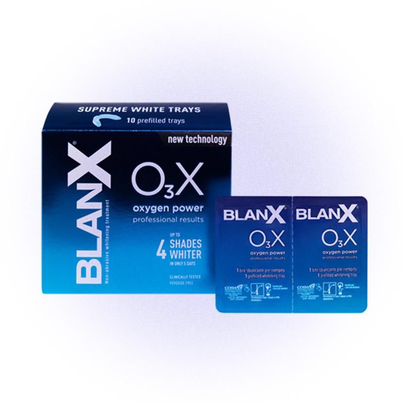 Отбеливающие капы BlanX O₃X «Сила Кислорода», BlanX
