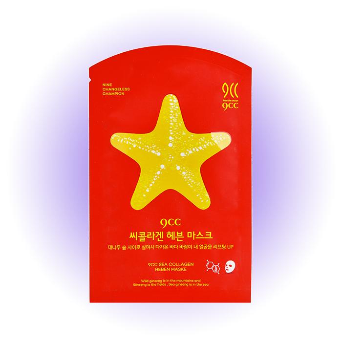 Маска для упругости кожи Sea Collagen Heben Maske, 9CC