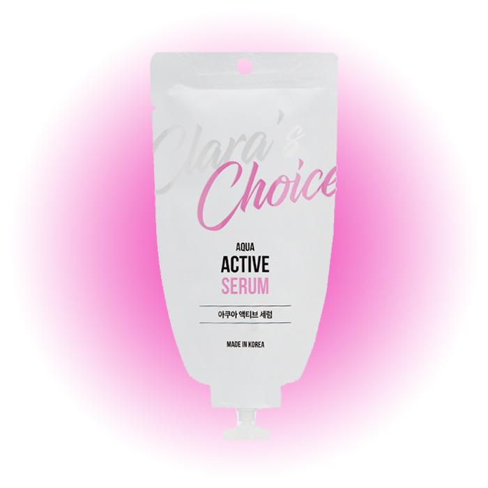 Сыворотка для лица Aqua Active Serum, Clara's Choice