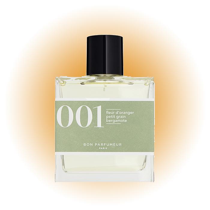 Fleur d'Oranger, Petit Grain, Bergamote, 001, Bon Parfumeur Paris