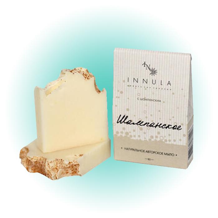 Мыло натуральное «Шампанское», Innula