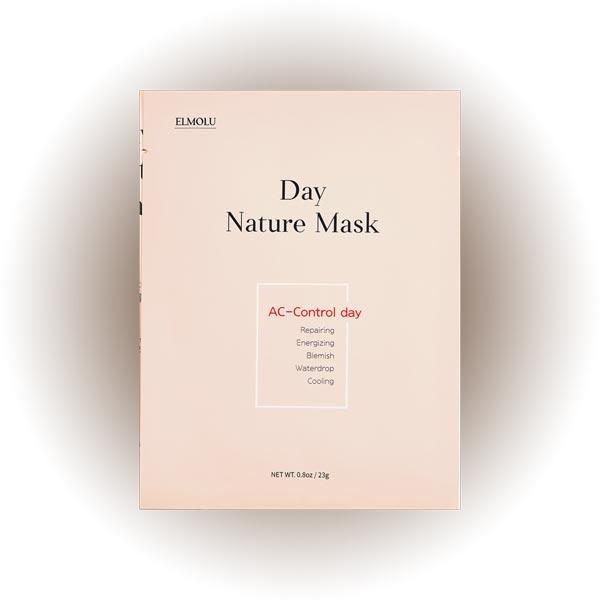 Набор масок «Контроль акне» Ac-Control Day Day Nature Mask, ELMOLU