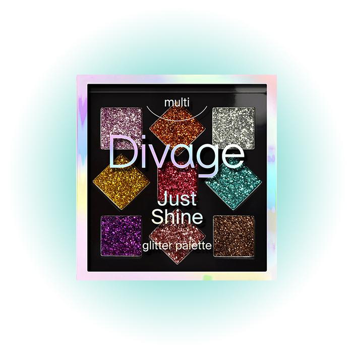 Палетка теней Just Shine, Divage