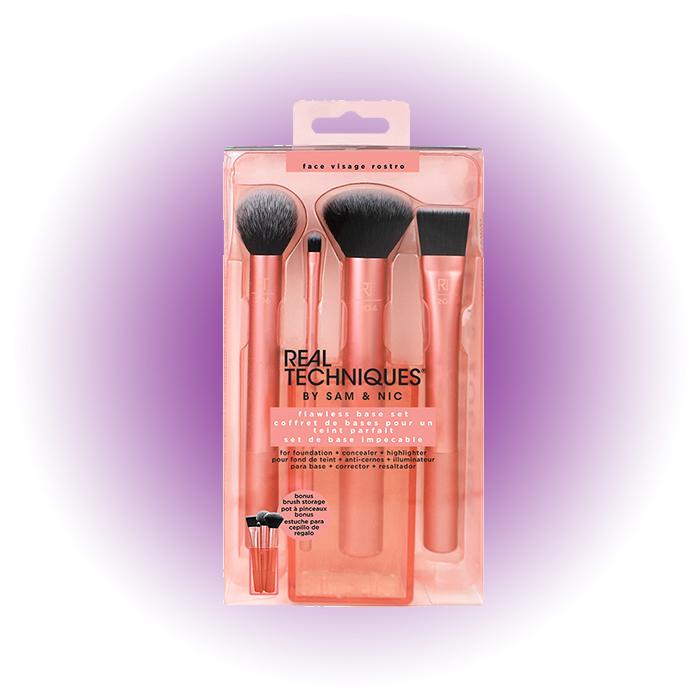 Набор кистей для макияжа Flawless Base Set, Real Techniques