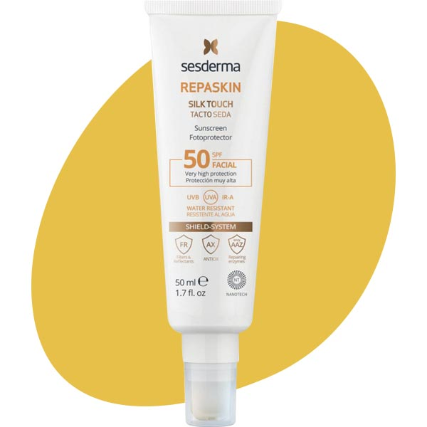 Солнцезащитное средство с матовым эффектом Repaskin Dry Touch, Sesderma