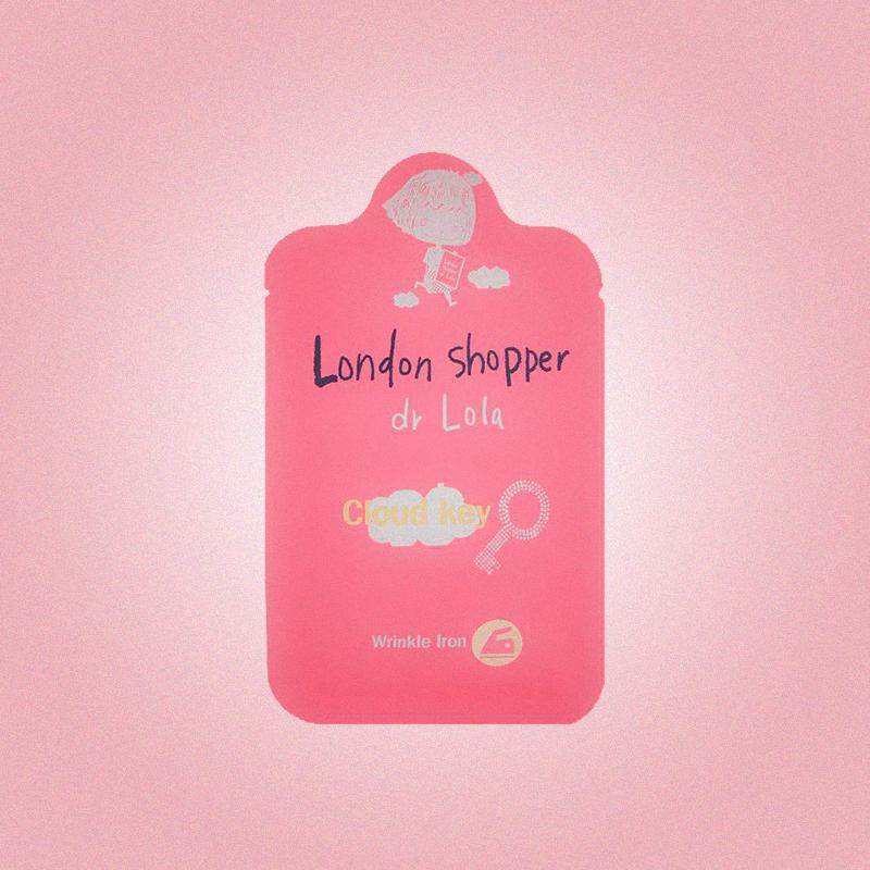 Разглаживающая тканевая маска London Shopper, Dr Lola