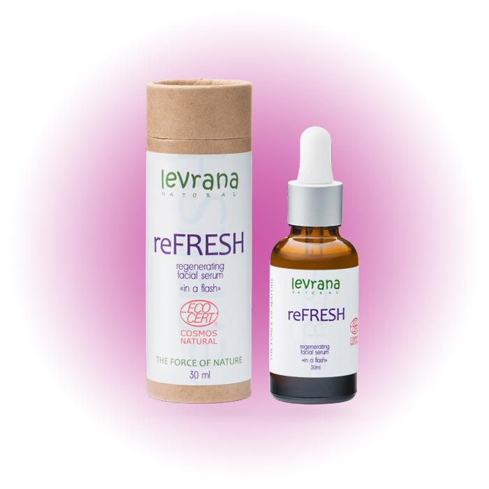 Регенерирующая сыворотка для лица reFRESH, Levrana