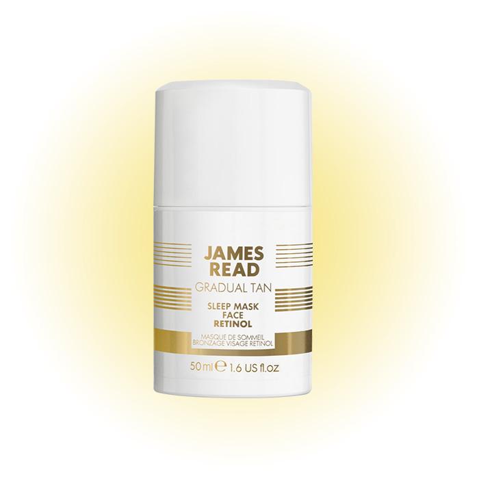 Ночная маска-уход и загар с ретинолом Sleep Mask Tan Face With Retinol, James Read