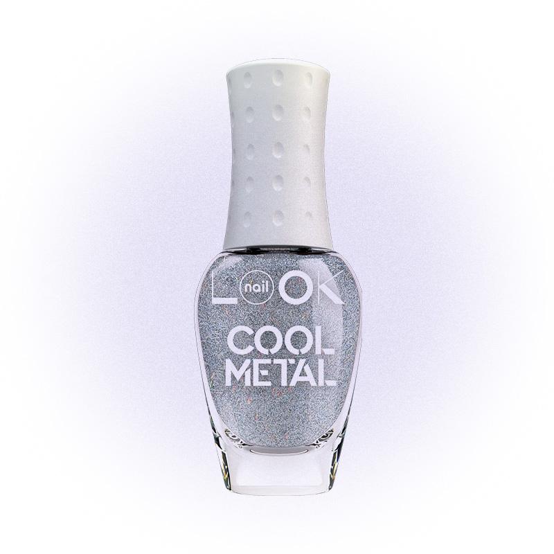 Лак для ногтей nailLOOK TRENDS COOL Metal