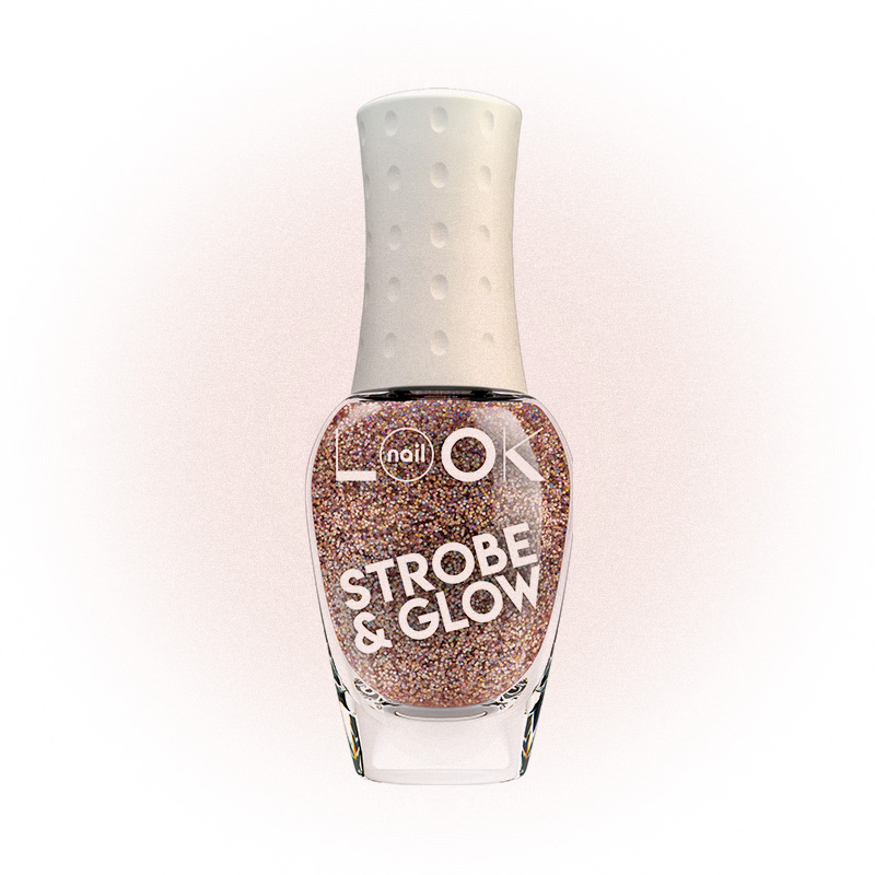 Лак для ногтей nailLOOK TRENDS STROBE & GLOW, Illuminating