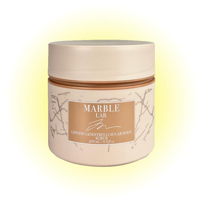 Cкраб для тела «Имбирное печенье», Marble Lab