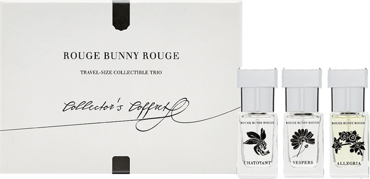 Набор ароматов  Travel-size Collectible Trio, Rouge Bunny Rouge