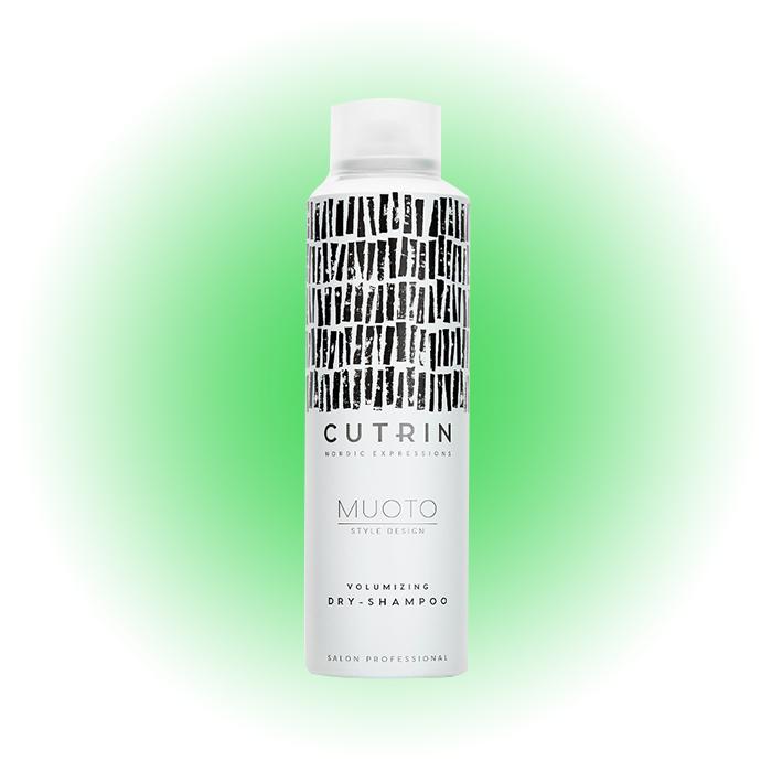 Сухой шампунь для объема волос Muoto volumizing, Cutrin