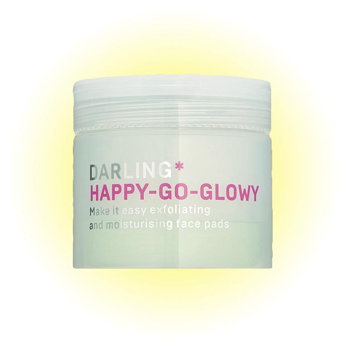 Эксфолиирующие пэды для моментального увлажнения лица Happy-go-glowy, Darling*