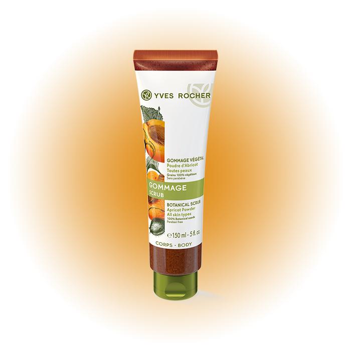 Гоммаж для тела Botanical Apricot Powder, Yves Rocher