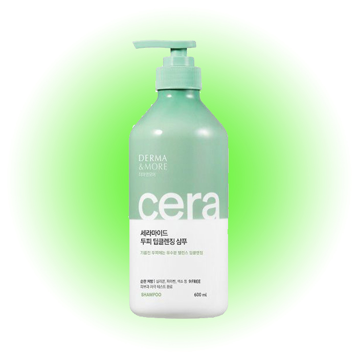 Очищающий шампунь Ceramide Deep Cleansing, Derma & More