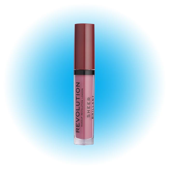 Блеск для губ Sheer Brillant, Makeup Revolution